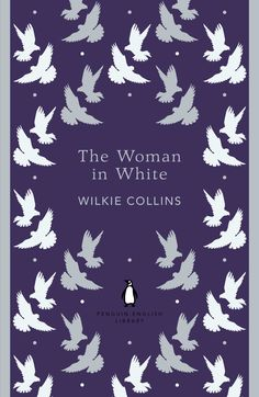 The Woman in White by Wilkie Collins. One of the 100 best English Language novels we're celebrating through our Penguin English Library collection. --@amg002 @meharris13 October Book Club?