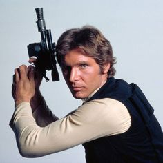 """""""It's a little-known fact but I wanted Han Solo to die at the end of """"Star Wars: Episode VI - Return of the Jedi"""". I thought it would give more weight and resonance. But George Lucas wasn't sympathetic. He didn't want me killed by those teddy bear guys."""" - Harrison Ford #harrisonford #starwars#sw#theforceawakens#awakenyourforce#starwarstheforceawakens #hansolo  Existem muitas formas de ver filmes. Visite agora o blog Mundo de Cinema emhttp://ift.tt/1L84YS8"""