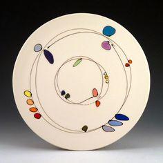 Free Ceramics (Matt Wilson, Emily Free Wilson, Lauren Smith & team)  |  Beautifully whimsical plate.