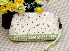 一片式随手包纸样|SewLover缝艺学堂|手工包包教程|DIY包包纸样