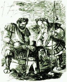Gog and Magog are giants. They led the Aryan hordes that plagued the Middle East in Biblical times. It is said that they will be killed by the Israelites and their graves will be so big that they will take seven months to dig.