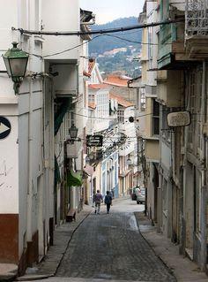 Quiero caminar por las aldeas de Pontedeume, Galicia