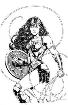 Wonder Woman by Jason fabok Comic Art Wonder Woman Kunst, Wonder Woman Art, Wonder Woman Comic, Wonder Women, Dc Comics Art, Comics Girls, Marvel Dc Comics, Justice League, Wonder Woman Pictures