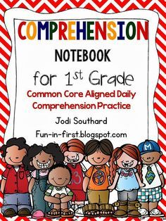 Daily Comprehension Notebook...A Must Have for every 1st grade classroom