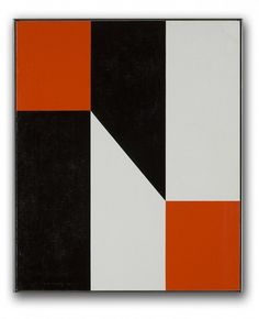 """Pact"" #4 1978 by Frederick Hammersley"