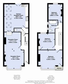 Home sweet hom drawing house plans 17 ideas for 2019 Kitchen Extension Terraced House, House Extension Plans, Extension Ideas, Victorian Terrace Interior, Victorian Homes, Victorian Cottage, Drawing House Plans, House Drawing, Edwardian Haus