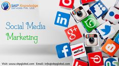 SKP outsources the social media marketing services which are the latest buzz word that increases the online presence of brands and companies thereby increasing their sales and targets. Social Media Marketing Companies, Marketing Technology, Online Marketing, Types Of Social Media, Social Media Channels, Pay Per Click Marketing, Marketing Techniques, Of Brand, Knowledge