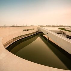 Álvaro Siza + Carlos Castanheira I The Building on the Water | Industrial Park - Shihlien China