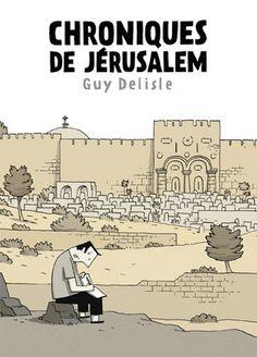 Chroniques de Jérusalem par DELISLE, GUY #renaudbray #livre #book #bandedessinee