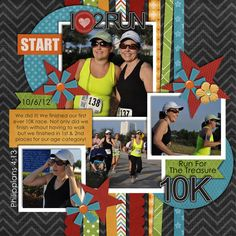 Run For The Treasure 10k - Scrapbook.com