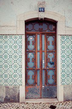 door in Lisbon   Flickr - Photo Sharing!