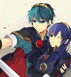 Fire Emblem and Super Smash Bros.  - Marth and Lucina