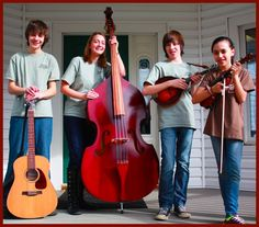 Floyd Music Schools Junior Bluegrass Band  The Blackberries  Sam Mackian, Laurel Brooke, Eli Wildman, Aila Wildman  Follow Floyd Music Schools Facebook page, https://www.facebook.com/floydmusicschool  for a schedule of The Blackberries performances this spring and summer