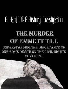 How did the murder of a 14 year old boy influence African American society and the Civil Rights Movement? Emmett Till, a Black youngster from Chicago, would visit his uncle in Mississippi in 1955 expecting a summer vacation of fun. Instead, it turned tragic as Emmett was suspected of a controversial action in the racist Deep South and found dead along a riverbank. Despite the extreme brutality and racism, Emmett's mother would turn the murder into a watershed moment in the Civil Rights…