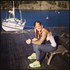 Ashlyn Harris, Sweden. (Instagram)