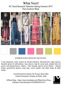 #Valentino #fashion #SS17 #ParisfashionWeek #PFW #PierpaoloPiccioli #womenswear #monocromes #ValentinoSS17 #springsummer2017 #slingbags #priyachander #whatnextpctrendresearch #fashionweek #fashionista #runway #readytowear #RTW #hippiedresses #geometricprints #pink #balletpumps #fashionresearch #fashioneditor #fashionindustry #fashionblogger #fashionblog #fashionforecast #fashiondesigner