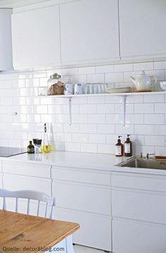 subway fliesen   kitchen   pinterest   fliesen, küche und küche farbe