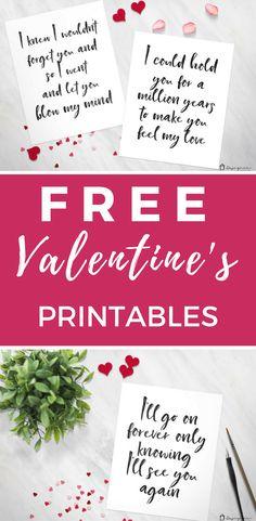 These free Valentine