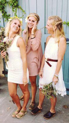 wedding day clogs