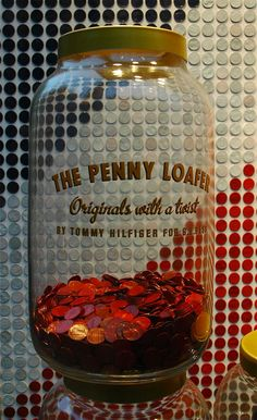 Who says you can't be patriotic AND fashionable? 40,000 American pennies, designed beautifully.