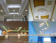 Hoàn thiện trần nhà cô Nga ở Lê Đức Thọ, Cầu Giấy, Hà Nội