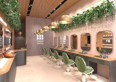 Blink Brow Bar Westfield visual by AMD Nail Salon Design, Nail Salon Decor, Beauty Salon Decor, Beauty Salon Design, Hair Salon Interior, Home Salon, Schönheitssalon Design, Makeup Studio Decor, Spa Interior Design