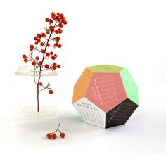 Printable 3D Calendar