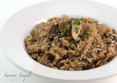 Risotto de setas ~ simple Savory