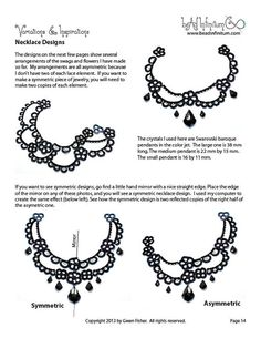 TUTORIAL Beaded Lace Swags Part 3 of a Beaded Lace от gwenbeads