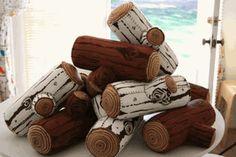 Stuffed log kit $25
