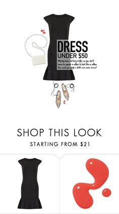 """Dress Under $50"" by the92liner ❤ liked on Polyvore featuring Nine West and Dressunder50"