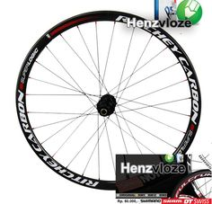 Sticker Ritchey Carbon utk 2 velg