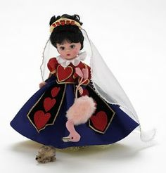 "the queen of hearts doll 8"" ~ madame alexander"
