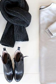 MINIMAL + CLASSIC: Wrap Boot - Black | Emerson Fry
