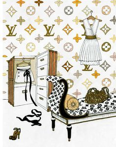 Louis Vuitton Wardrobe