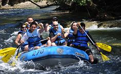 Rafting on the scenic Stanislaus River - Photo by Sunshine Rafting