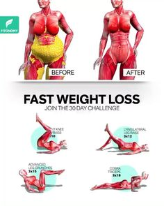 Fitness Workouts, Gym Workout Videos, Gym Workout For Beginners, Fitness Workout For Women, Fitness Tips, Health Fitness, Weight Loss Workout Plan, Fast Weight Loss, Lose Weight