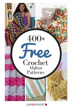 Did you know we have over 400 free afghan patterns?