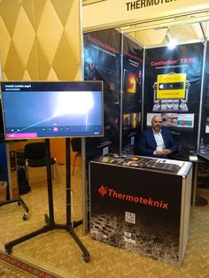 """""""In the pictures: stand at MEA 2020 in Dubai where we are currently exhibiting our latest developments for the & including our new MultiView Enterprise platform for fully integrated kiln monitoring. Exhibitions, Dubai, Industrial, Platform, Twitter, Pictures, Products, Photos, Photo Illustration"""