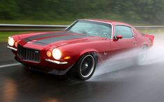 Pro-Touring cars like this 1970 Camaro aren't afraid to get a little wet from time to time