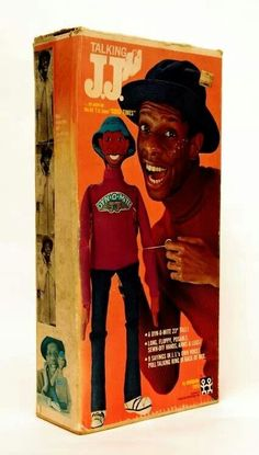 Talking JJ doll from 'Good Times' - Dy-no-mite!