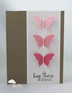 46 best handmade greeting cards ideas images on pinterest in 2018 north shore stamper case using my paper pumpkin exclusive stamp butterflies find this pin and more on handmade greeting cards ideas m4hsunfo