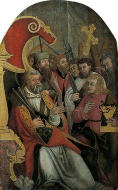 Meister der Donauschule, PETRUS UND DIE APOSTEL., 1525, Auktion 903 Alte Kunst (900 C), Lot 1096