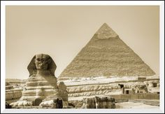 Keops and the Sphinx