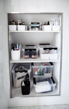 10 Persevering Clever Tips: Hall Bathroom Remodel Cabinet Colors master bathroom remodel color palettes.Large Bathroom Remodel Small Spaces bathroom remodel on a budget modern.Old Bathroom Remodel On A Budget. Basement Guest Rooms, Basement Bathroom, Bathroom Storage, Wainscoting Bathroom, Bathroom Plumbing, Narrow Bathroom, Simple Bathroom, Glass Bathroom, House Of Philia