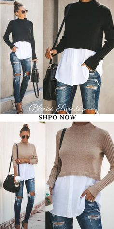 Autumn Clothing - Winter Outfits for Work Mode Outfits, Chic Outfits, Fashion Outfits, Fashion Trends, Casual Fall Outfits, Winter Outfits, Look Fashion, Winter Fashion, Female Fashion