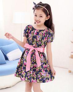 8493bec4a2d  10.56 - New summer girls dress. 4th Generation Communications Beachum