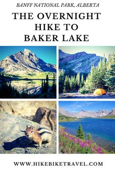 Backpacking into the Baker Lake Campground in the Skoki area of Banff National Park provides sublime scenery but lots of deerflies & an overused campssite. Best Hiking Gear, Hiking Trips, Hiking Food, Hiking Europe, Hiking Guide, Backpacking, Camping, Forest Bathing, Canadian Travel