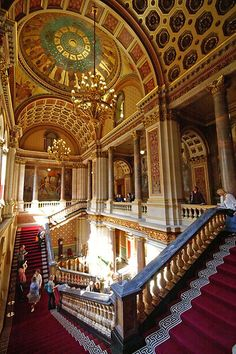 The Foreign Office - Grand Staircase - Whitehall - London by nick.garrod, via Flickr