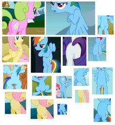 #119936 - daisy, featureless crotch, fluttershy, plot, pppp, rainbow dash, rarity, safe - Derpibooru - My Little Pony: Friendship is Magic Imageboard